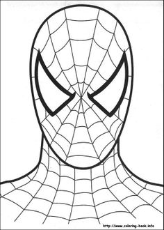Spider Printable  Printable Coloring Pages - Spider Man for Devin :)