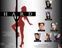 #PhillyCalendar 5/23 7pm - HARD by Luke Allen A THEATRICAL PRODUCTION YOU DON'T WANT TO MISS!