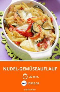Nudel-Gemüseauflauf - smarter - Kalorien: 10932.7 kcal - Zeit: 20 Min.   eatsmarter.de