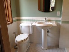 small master bath re-do, largeish walk-in shower with glass doors to the right, pocket door is nice