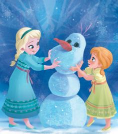 """This reprise to """"Do You Want to Build a Snow Man"""" is heartbreaking and beautiful! Very well done--worth the listen. ( Anna, Elsa, Frozen )"""