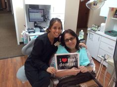 We are always pleased to delight our patients. Valerie (Dental assistant) and one of our valued patients pose after her appointment with Dr. Shelton! We are very appreciative of our wonderful patients. At Rose Dental Group, a smile can change the day! #RoseDentalGroup #SmilesChangeTheDay #HappyPatient
