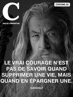 True courage is not knowing when to delete a life, but when to save one. – the most beautiful quotes from Gandalf among thousands of images of quotes, phrases, and cult replicas Delete Quotes, Hp Quotes, Funny Quotes, Life Quotes, Citations Hp, Citation Harry Potter, Harry Potter Quotes, Harry Potter Characters, Poster