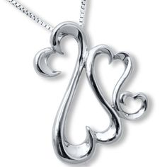 ba79d85c6 Kay Jewelers Jane Seymour Open Hearts Sterling Silver Necklace With Gift  Box #KayJewelers #Pendant