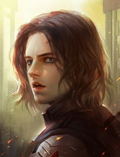 Hey, look! An awesome fan art of Bucky that i will never be capable of do best!