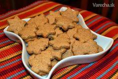 Recept na výborné zdravé zázvorovo-škoricové sušienky z celozrnnej špaldovej múky.