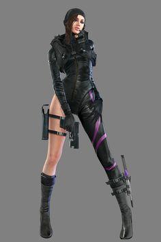 Resident Evil: Revelations: Jessica Sherawat- Revelations Wet Suit