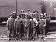 Hardworking women of the railway.