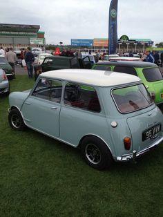 Classic mini. In a classic colour.