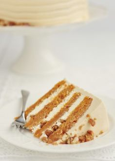 Yummy sweet potato cake.