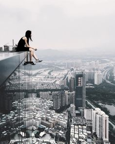 Incredible Rooftop Photography of Shenzhen by Ivan Sidorenko #inspiration #photography