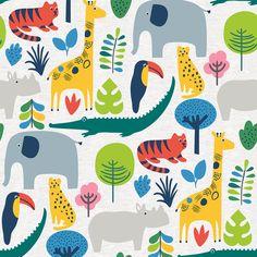 Elements Jungle Wallpaper