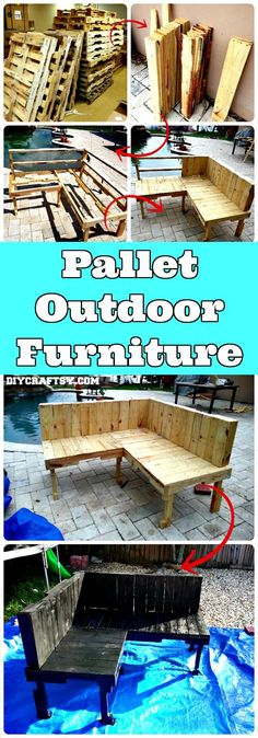 150 Best DIY Pallet Projects and Pallet Furniture Crafts - Page 48 of 75 - DIY & Crafts