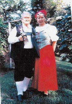 Charles & Gwen in German costume