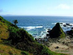 Playa de Curiñanco, Chile