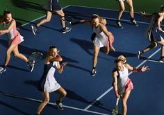 Caroline Wozniacki in the Adidas Stella Barricade New York Dress for the 2016 US Open