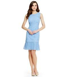 6873e597816 Bluebell Antonio Melani Dale Floral Geo Lace Dress Antonio Melani Dress