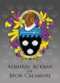 Meus Unda Meus Plagiarius - Admiral Ackbar of Mon Calamari