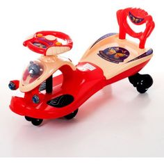 Lil' Rider Wiggle Racer Ride-On, Red