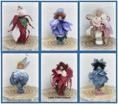 "Linda Walsh Originals Dolls and Crafts Blog: My Linda's How-Do-I Series? How To Make My ""Gotta Love Fairies Peg Dolls"" Free E-Book"