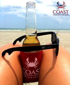 Bottle opener sunglasses. #Coast #Sunglasses www.CoastApparel.com