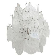 1960's Vistosi Chandelier   From a unique collection of antique and modern chandeliers and pendants  at http://www.1stdibs.com/furniture/lighting/chandeliers-pendant-lights/