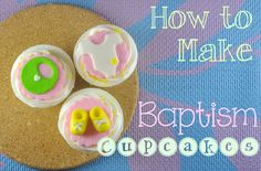 Baptism Themed Cupcakes :)