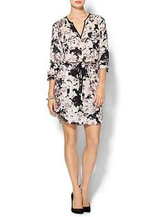 Rebecca Taylor Long Sleeve First Floral Shirt Dress | Piperlime