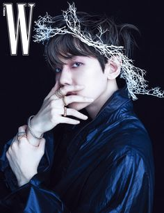 """baekhyun (exo) for w korea may 2020 - featuring both valentino and alexander mcqueen spring 2020 menswear collections. the cover has already become the magazine's best-selling issue ever in less than 24 hours with over copies sold. Baekhyun Chanyeol, K Pop, Luhan And Kris, W Korea, Fandom, Kim Minseok, Exo Korean, Stay Happy, Exo Members"