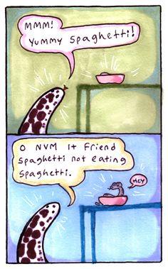 These snek comics will never stop being real cute