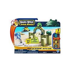 STAR WARS ANGRY BIRDS STRIKE BACK - FIGHT ON TATOOINE BATTLE GAME on Kwerkee