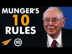 He's an American business magnate, lawyer, investor, and philanthropist. He's Vice-Chairman of Berkshire Hathaway Corporation, the diversified investment cor. Real Estate Investing Books, Charlie Munger, Ray Dalio, Business Magnate, Ted Talks, Smart People, Oprah, Self Development, Book Lists