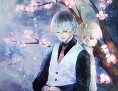Haise e Kaneki criança - Tokyo Ghoul
