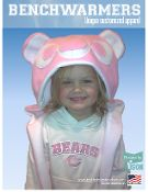 Chicago Bears Inspired THINK PINK Fleece Hat US PAT