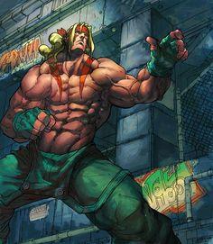 street fighter alex | Street Fighter-Alex.