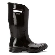 BOGS- WOMEN'S BERKLEY RAIN BOOTS Hunter Boots, Rubber Rain Boots, Shoes, Black, Fashion, Moda, Zapatos, Shoes Outlet, Black People