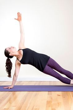 For the yoga-lovers out there who want to work their upper body and core without lifting dumbbells, here are four push-up variations all inspired by bodyweight-powered yoga poses.  Learn how to do Chaturanga push-ups, Down Dog push-ups, Sage push-ups, and Backbend push-ups.