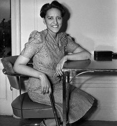 Jane M. Bolin was the first Black woman graduate of Yale Law School and the first Black woman in the United States to become a judge. She is pictured here in July 1939, shortly after her appointment by New York City mayor Fiorello H. La Guardia, which made news all over the world. Judge Bolin retired in 1979 after 40 years as a judge - but only because she had reached the mandatory age retirement of 70. She died at age 98 in 2007.