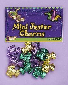 Mini Jester Charms