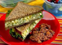 Egg Salad Sandwich Recipe for Your Flat-Belly Diet | My Recipes