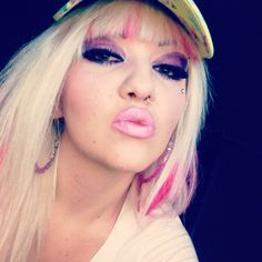 Muah xox Barbie pink hair