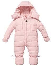 662c090faaab ZOEREA ZOEREA Infant Newborn Baby Hoodie Down Jacket Jumpsuit Pram Snuggly  Snow Suit