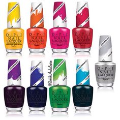 OPI Color Paints Blendable Nail Lacquers will be launching in May 2015! They are semi-translucent colours that can be blended and are buildable. Full details and photos on SwatchAndLearn.com!