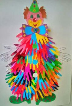 Paper Crafts For Kids, Diy And Crafts, Arts And Crafts, Circus Birthday, Birthday Diy, Theme Carnaval, Carnival Crafts, Monkey Crafts, Kindergarten Crafts
