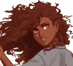 Hazel. Art by Viria.