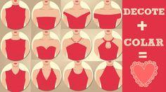 Como combinar colar com blusas para aumentar os seios e até afinar o visual - Bolsa de Mulher