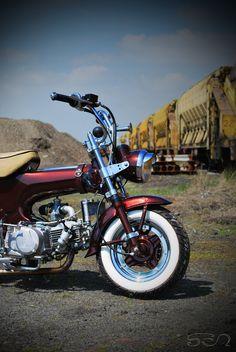 My Honda Dax II by Sen007