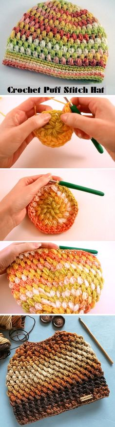 Tutorial for the Puff Hat