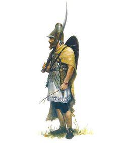 Dacian noble warrior - art by José Daniel Cabrera Peña