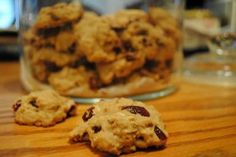 Oatmeal Cranberry Amish Friendship Bread Cookies